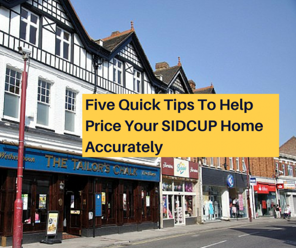 Five quick tips to help you price your Sidcup home accurately