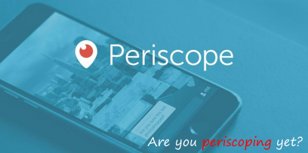 Periscope: A game changer for Estate Agents?