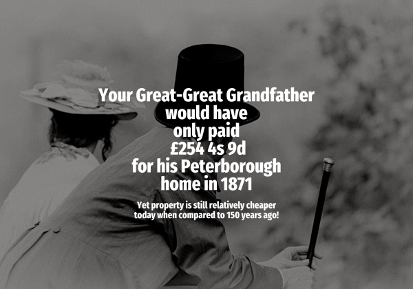 What your Great-Great Peterborough Grandfather Would Have Paid for their home