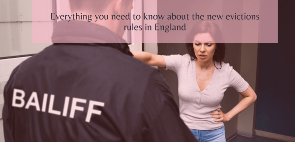 Everything you need to know about the new evictions rules in England