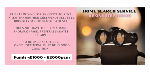 Tenant is looking for an office