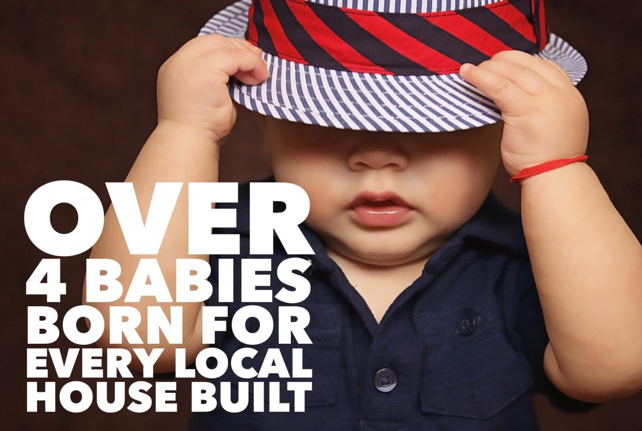 >4.94 Babies Born for Each...