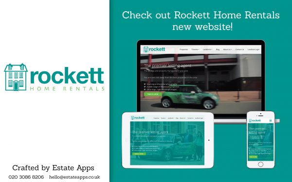 Rockett Home Rentals Website