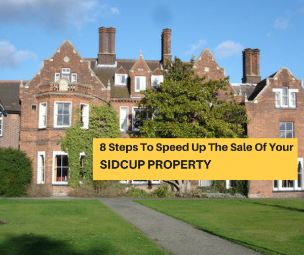 8 Steps To Speed Up The Sale Of Your Sidcup Property