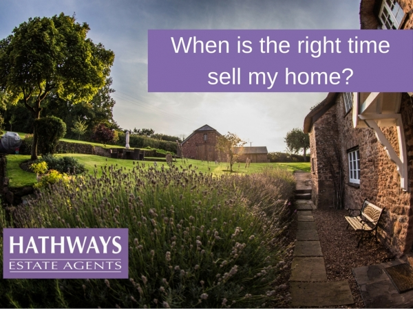 When is the right time sell my home?