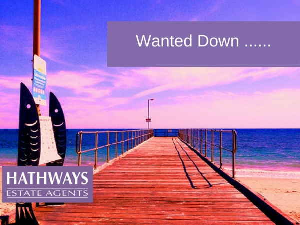 Wanted down …. Where…?
