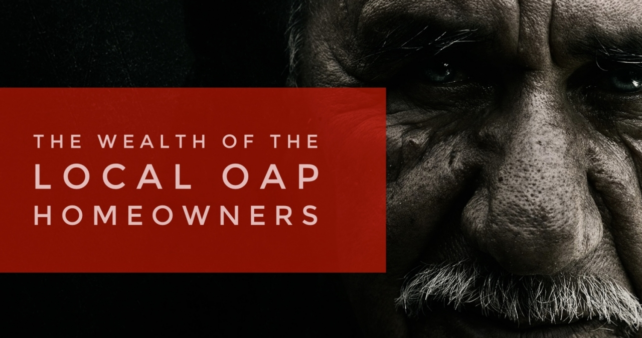 >83.4% of Sidcup OAP's own their own home … and the