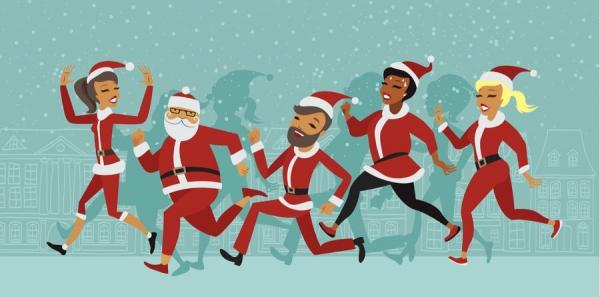 Hinckley BID & HBBC Festive Family Fun Run - Sun 5th December 2021