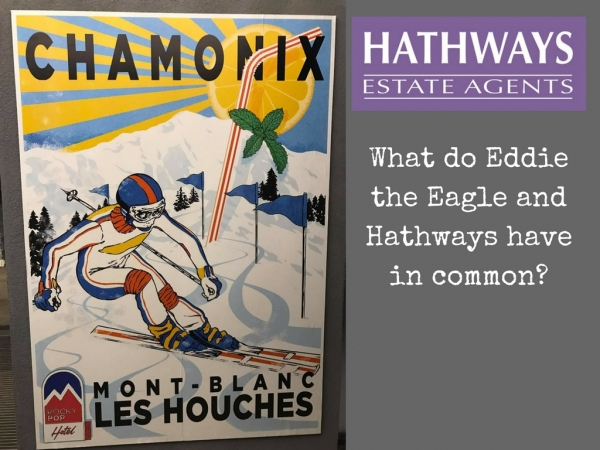 What do Eddie the Eagle and Hathways have in common?