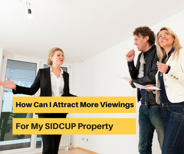 HOW CAN I ATTRACT MORE VIEWINGS FOR MY SIDCUP PROPERTY?
