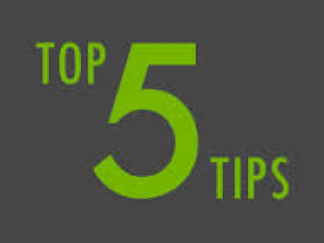 >top 5 tips for selling