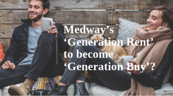 Medway's 'Generation Rent' to Become 'Generation Buy'?