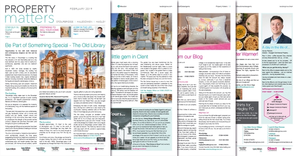 Our NEW Newsletter - Property Matters