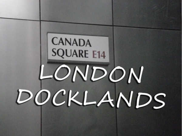 The Docklands Monopoly Board