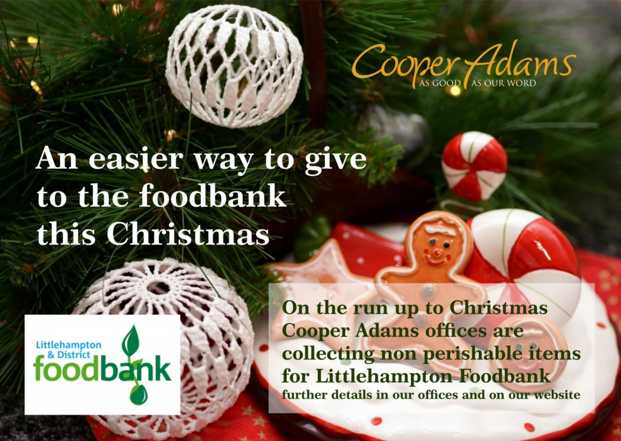>Christmas Foodbank Collection