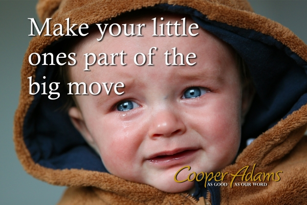 Make your little ones part of the big move