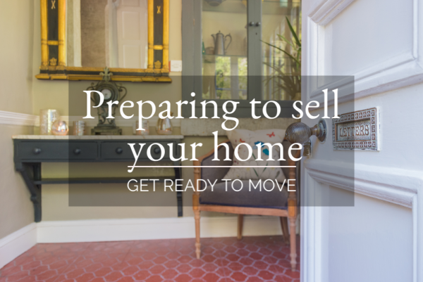 Preparing to sell your home - Getting ready to move