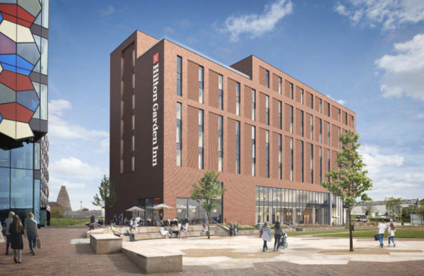 Plans reveal further Stoke-on-Trent hotel details!