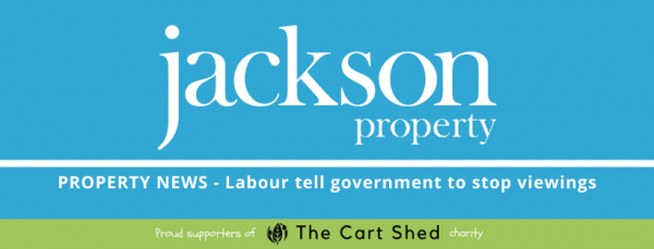 Labour tells government that viewings should stop!