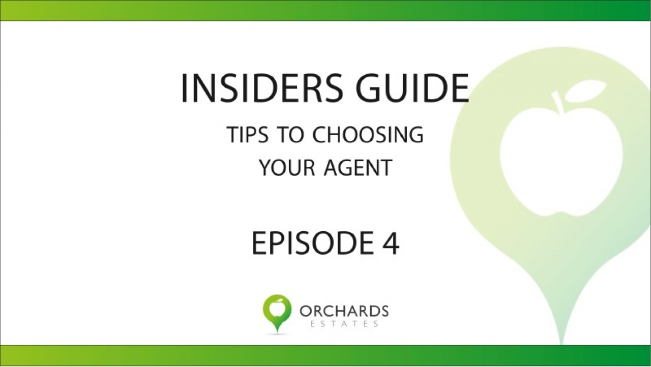 >Insiders Guide Part 1 - How to choose an Agent