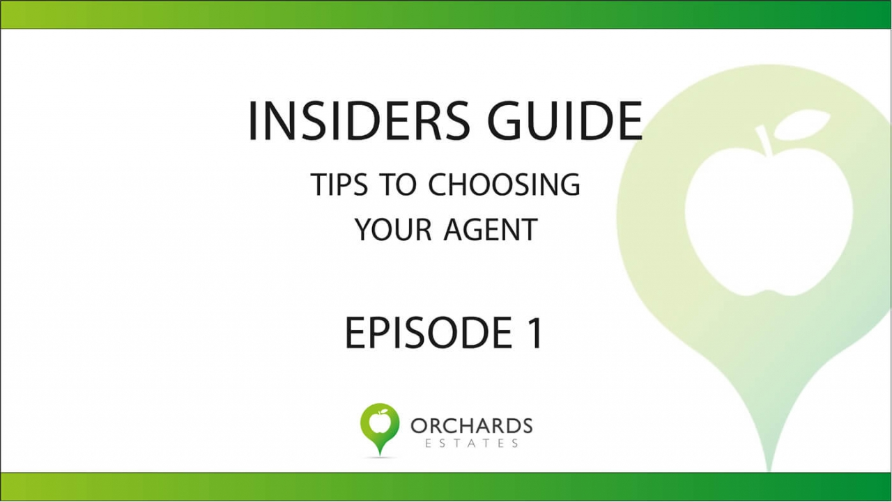 >How to choose an Estate Agent