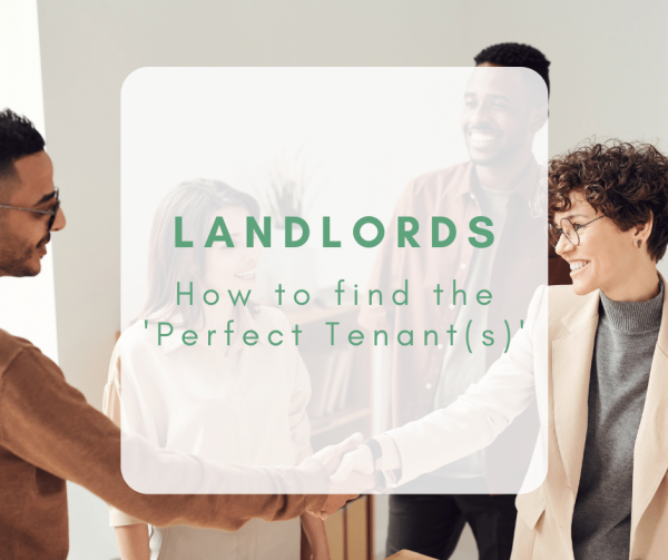 Landlords: How to find the 'Perfect Tenant'