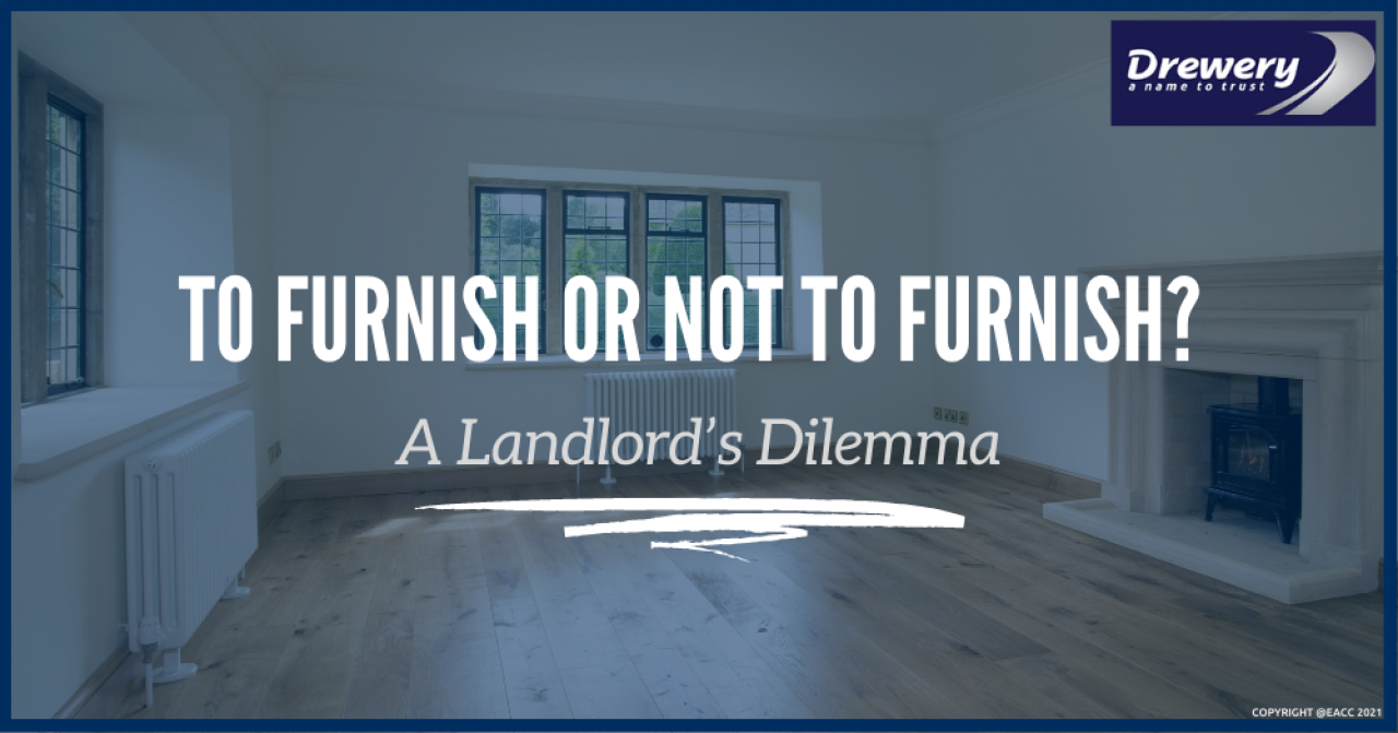 >To Furnish or Not to Furnish? A Landlord's Dilemma