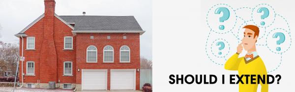 The Extending vs Moving House Dilemma