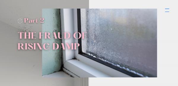 The fraud of rising damp