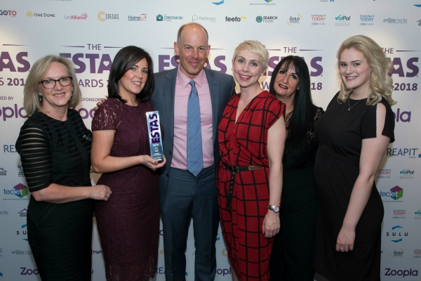 Wishart Estate Agents claim Silver ESTAS Award