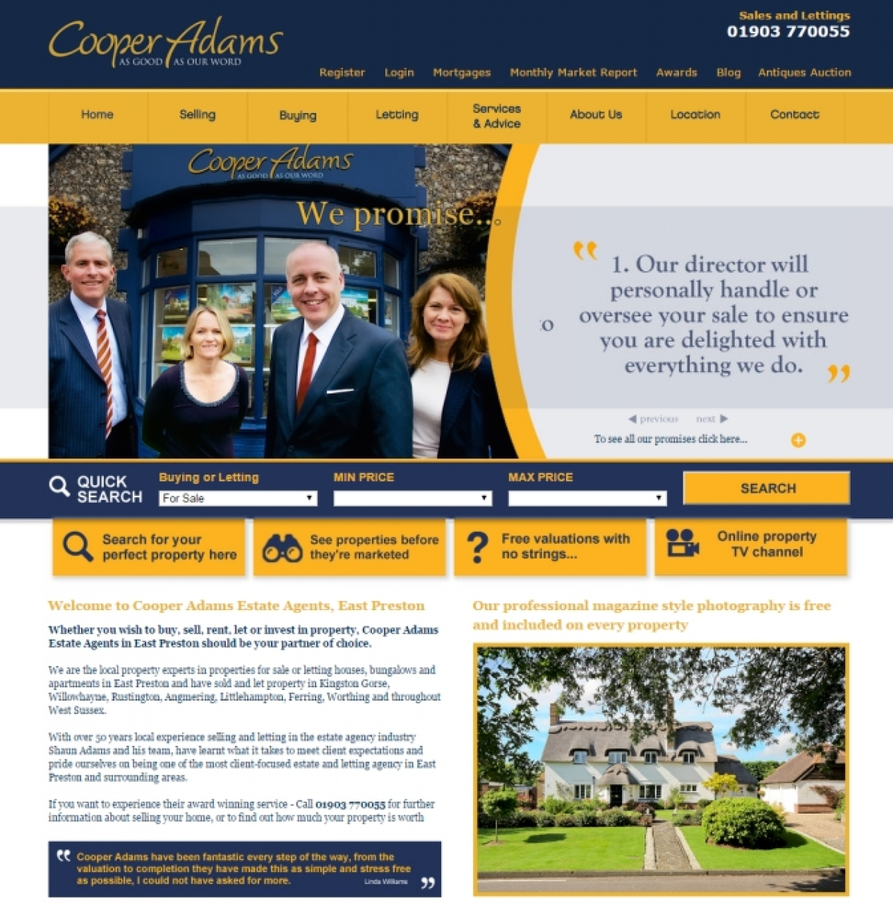 Our Website - a new look f...