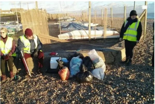 East Preston Beach Clean