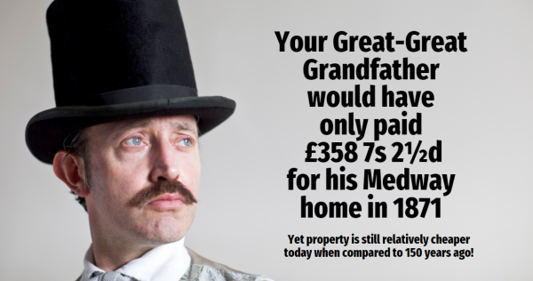Your Great-Great Grandfather Would Have Only Paid £358 7s 2½d for his Medway Hom