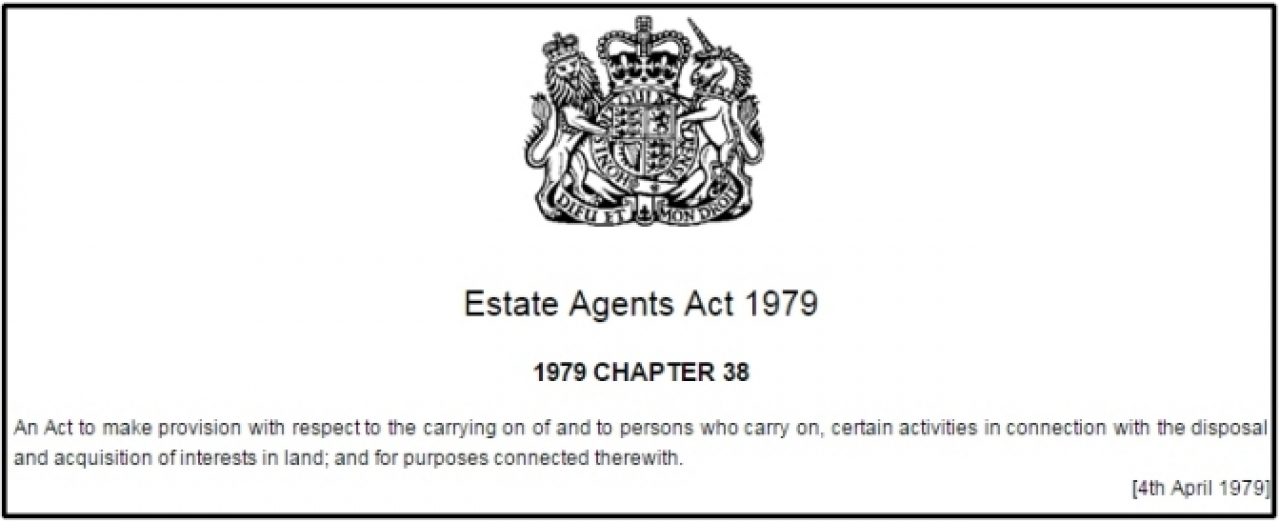 Estate Agents Act 1979