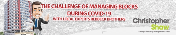 Covid-19 - Landlord & Tenant Update - Block management during Covid-19