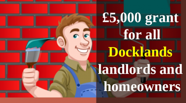 Every Docklands Homeowner & Landlord to Receive up to £5,000 Grant for Roof Insu