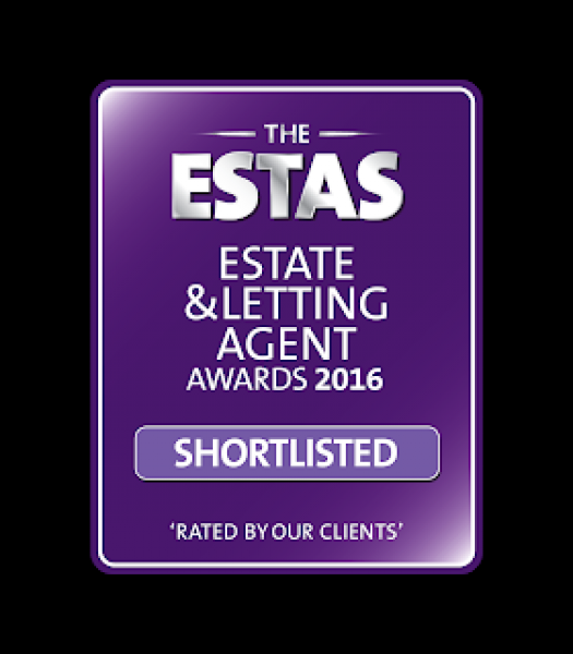 Docklands estate agent shortlisted for the ESTAS property awards 2016.