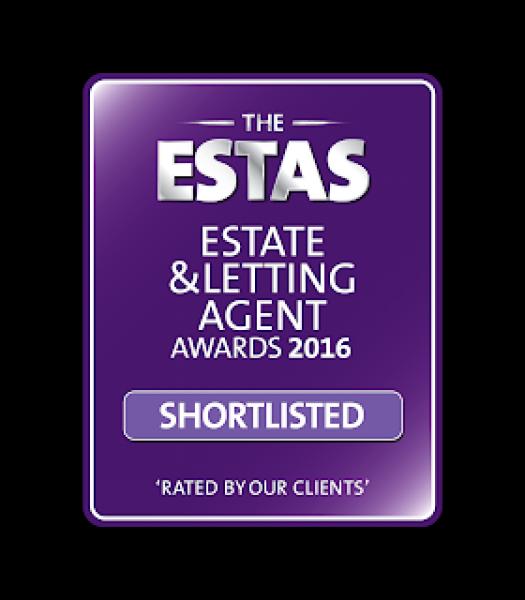 Docklands estate agent shortlisted for the ESTAS property awards 2016.