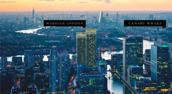 Is Canary Wharf property really worth nearly £2,000 per square foot?
