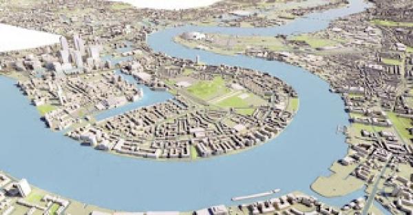 Boris Johnson has a masterplan for East London
