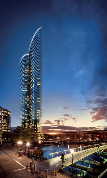 Spire London, Europe's tallest apartment block is set to be built in Canary Whar