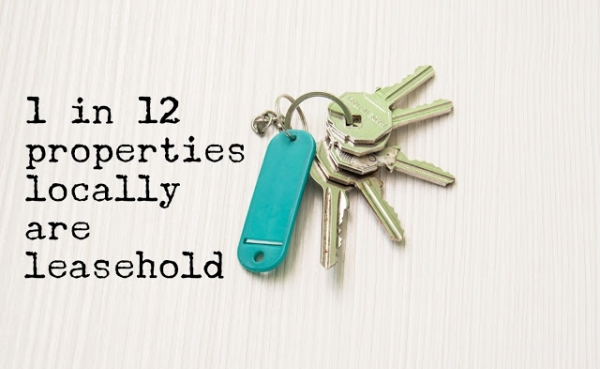 Do you know how many leasehold properties there are in Medway?