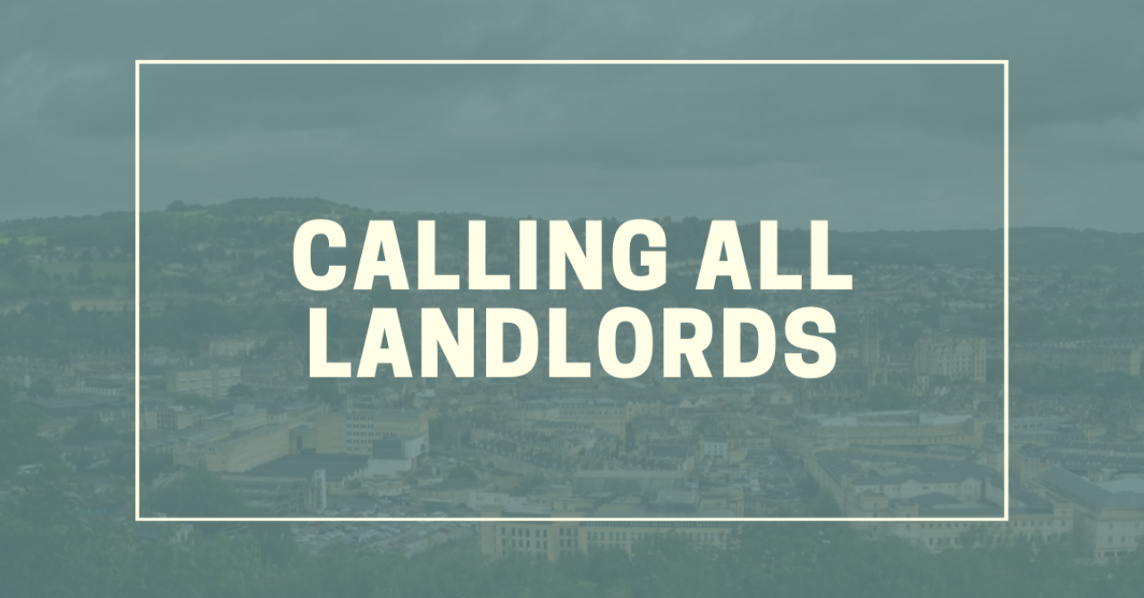 >Calling all landlords!