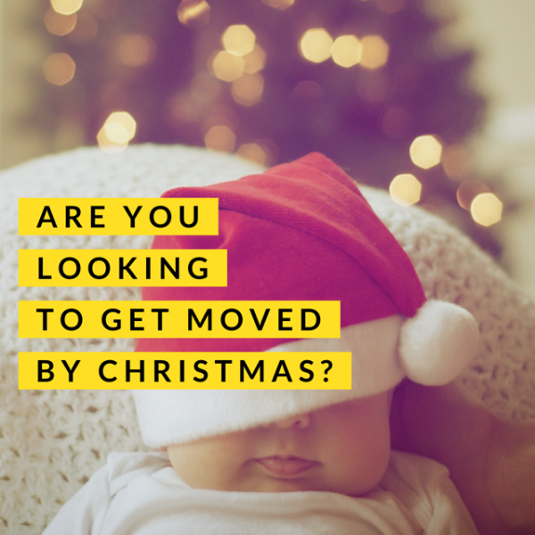 If You Want to Move in to your new home by Christmas, Read This…