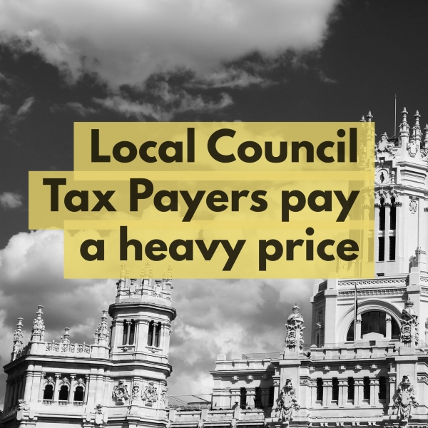 Sidcup Council Tax Payers Stung by 40.18% above Inflation Rise