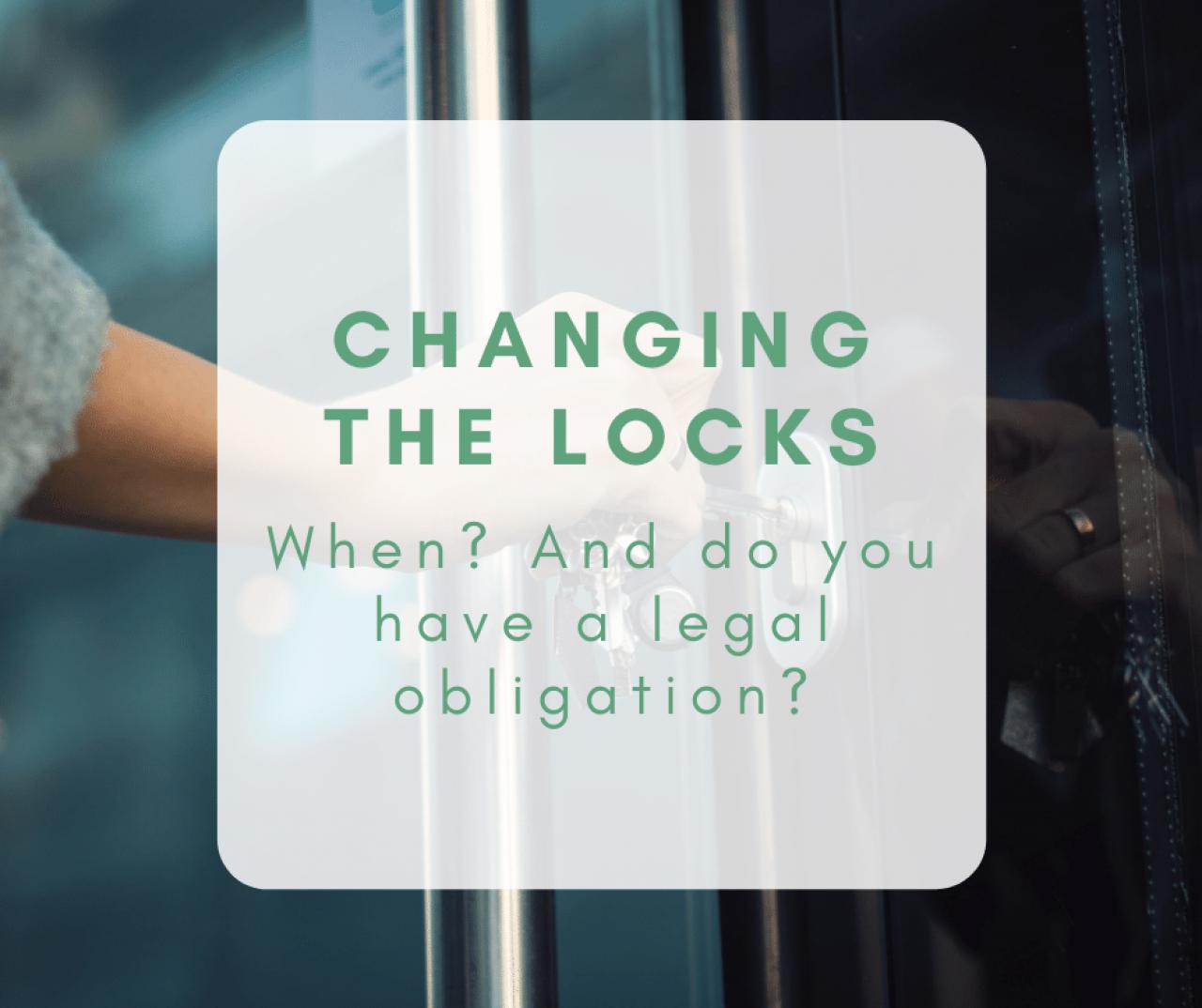 >locking door