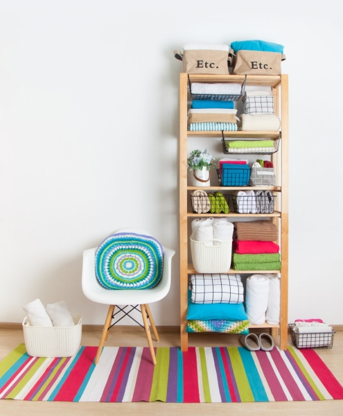 Four Fantastic Tips on getting your home organised from the Queen of Clean
