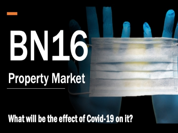 What will be the effect of Covid 19 on the BN16 property market?