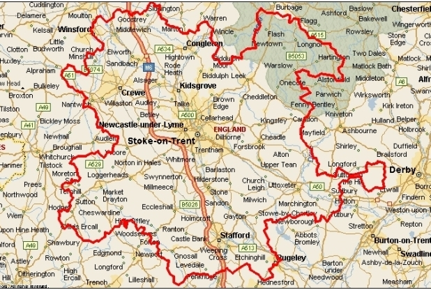 10 Property Hot Spots in North Staffordshire