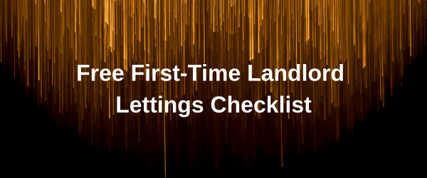First-Time Landlord Lettings Checklist